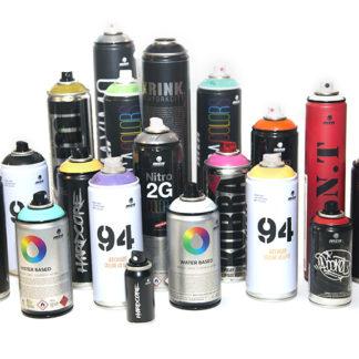 Spray- värvid
